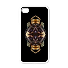African Goddess Apple Iphone 4 Case (white)