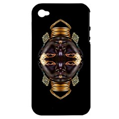 African Goddess Apple Iphone 4/4s Hardshell Case (pc+silicone)