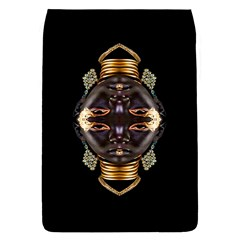 African Goddess Removable Flap Cover (large)