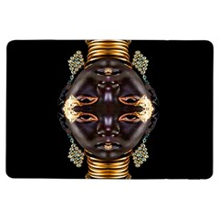 African Goddess Apple Ipad Air Flip Case