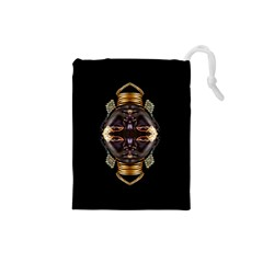 African Goddess Drawstring Pouch (Small)
