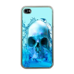 Skull In Water Apple Iphone 4 Case (clear)