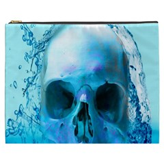 Skull In Water Cosmetic Bag (xxxl)