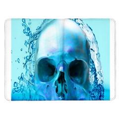 Skull In Water Kindle Fire Flip Case