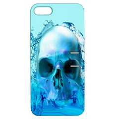 Skull In Water Apple Iphone 5 Hardshell Case With Stand