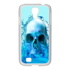 Skull In Water Samsung GALAXY S4 I9500/ I9505 Case (White)