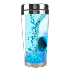 Skull In Water Stainless Steel Travel Tumbler