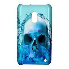 Skull In Water Nokia Lumia 620 Hardshell Case