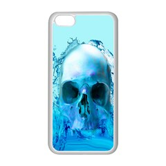Skull In Water Apple Iphone 5c Seamless Case (white)