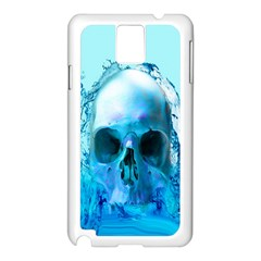 Skull In Water Samsung Galaxy Note 3 N9005 Case (white)