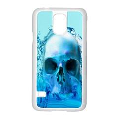 Skull In Water Samsung Galaxy S5 Case (white)