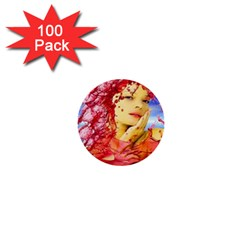 Tears Of Blood 1  Mini Button (100 pack)