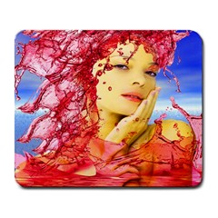 Tears Of Blood Large Mouse Pad (rectangle)