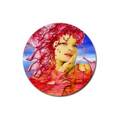 Tears Of Blood Drink Coaster (Round)