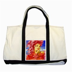 Tears Of Blood Two Toned Tote Bag