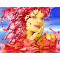 Tears Of Blood Canvas 18  X 24  (unframed)