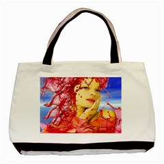 Tears Of Blood Twin-sided Black Tote Bag