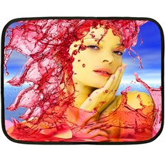 Tears Of Blood Mini Fleece Blanket (two Sided)