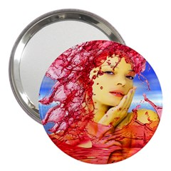 Tears Of Blood 3  Handbag Mirror