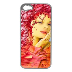 Tears Of Blood Apple Iphone 5 Case (silver)