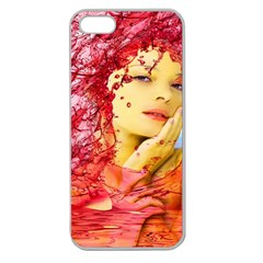 Tears Of Blood Apple Seamless Iphone 5 Case (clear)