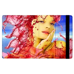Tears Of Blood Apple Ipad 2 Flip Case