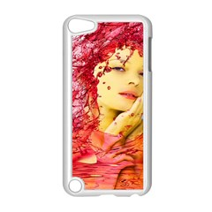 Tears Of Blood Apple iPod Touch 5 Case (White)