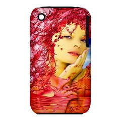 Tears Of Blood Apple iPhone 3G/3GS Hardshell Case (PC+Silicone)