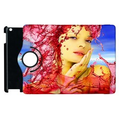 Tears Of Blood Apple iPad 3/4 Flip 360 Case