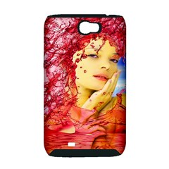 Tears Of Blood Samsung Galaxy Note 2 Hardshell Case (PC+Silicone)
