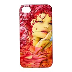 Tears Of Blood Apple Iphone 4/4s Hardshell Case With Stand