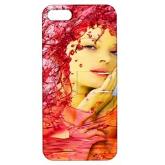 Tears Of Blood Apple Iphone 5 Hardshell Case With Stand