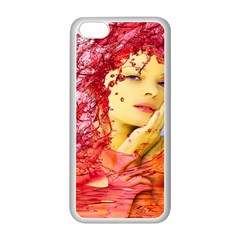 Tears Of Blood Apple iPhone 5C Seamless Case (White)