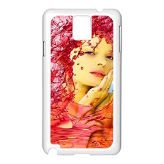 Tears Of Blood Samsung Galaxy Note 3 N9005 Case (White)