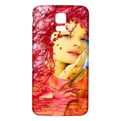 Tears Of Blood Samsung Galaxy S5 Back Case (white)