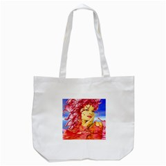 Tears Of Blood Tote Bag (White)
