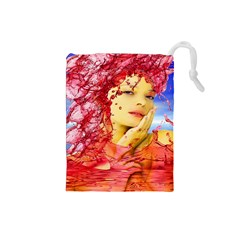 Tears Of Blood Drawstring Pouch (Small)
