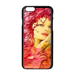 Tears Of Blood Apple iPhone 6 Black Enamel Case