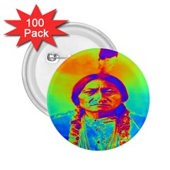 Sitting Bull 2.25  Button (100 pack)