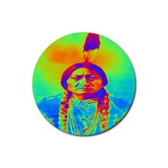 Sitting Bull Drink Coasters 4 Pack (Round)