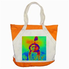 Sitting Bull Accent Tote Bag