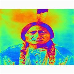 Sitting Bull Canvas 36  X 48  (unframed)