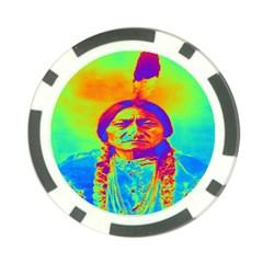 Sitting Bull Poker Chip