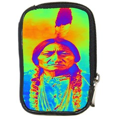 Sitting Bull Compact Camera Leather Case