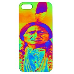 Sitting Bull Apple Iphone 5 Hardshell Case With Stand