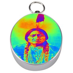 Sitting Bull Silver Compass