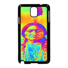 Sitting Bull Samsung Galaxy Note 3 Neo Hardshell Case (Black)