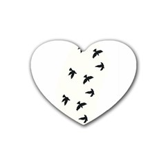 Waterproof Temporary Tattoo      Three Birds Drink Coasters 4 Pack (heart)