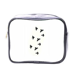 Waterproof Temporary Tattoo      Three Birds Mini Travel Toiletry Bag (one Side)