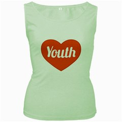 Youth Concept Design 01 Women s Tank Top (Green)